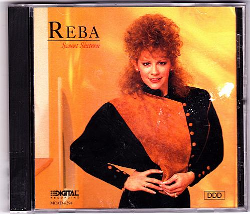 Sweet Sixteen by Reba McEntire CD 1989 - Very Good