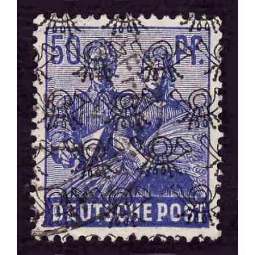 German Used Scott #629 Catalog Value $.60