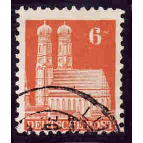 German Used Scott #638 Catalog Value $.45