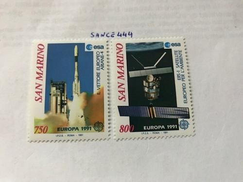 San Marino Europa mnh 1991