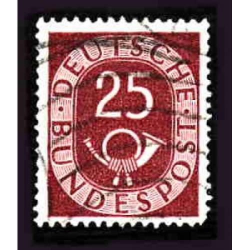 German Used Scott #678 Catalog Value $5.25