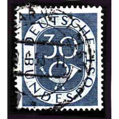 German Used Scott #679 Catalog Value $.55