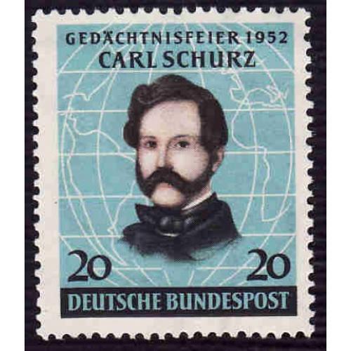 German Hinged Scott #691 Catalog Value $6.75
