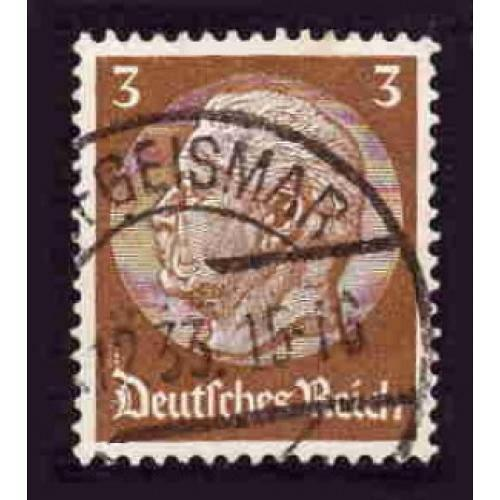 German Used Scott #401 Catalog Value $.80