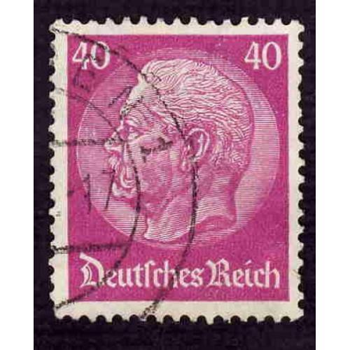 German Used Scott #410 Catalog Value $2.75