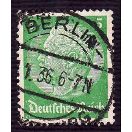 German Used Scott #418 Catalog Value $.40