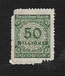 German MNH Scott #309 Catalog Value $5.25