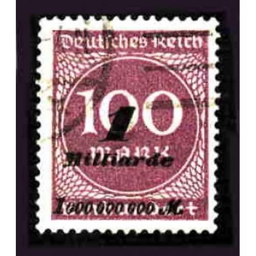 German Used Scott #310 Catalog Value $29.00