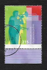 German Used Scott #2773 Catalog Value $3.00