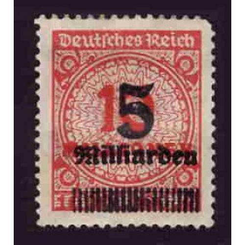 Germany Hinged Scott #313 Catalog Value $.25