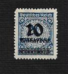 Germany Hinged NG Scott #314 Catalog Value $.25