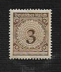 Germany Hinged Scott #323 Catalog Value $.40