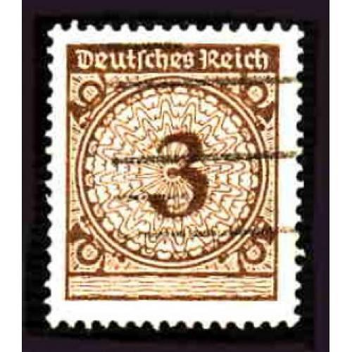 German Used Scott #323 Catalog Value $.25