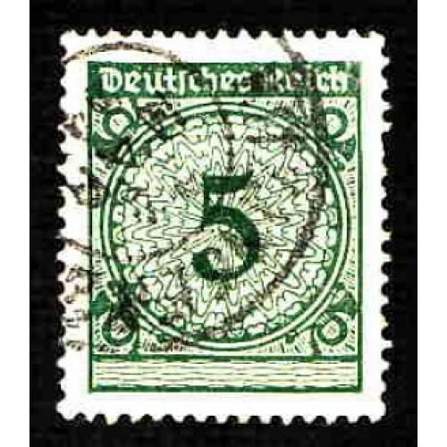 German Used Scott #324 Catalog Value $.25