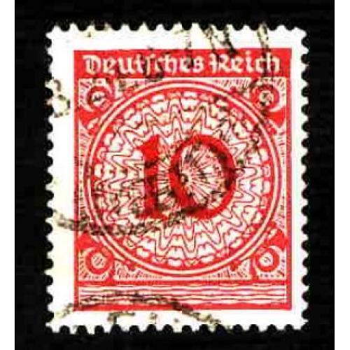 German Used Scott #325 Catalog Value $.25