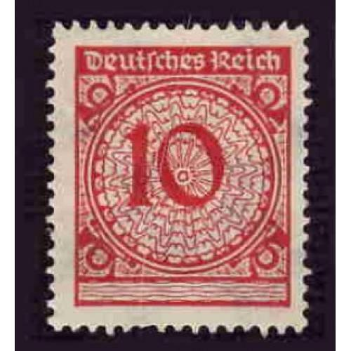 Germany Hinged Scott #325 Catalog Value $.40