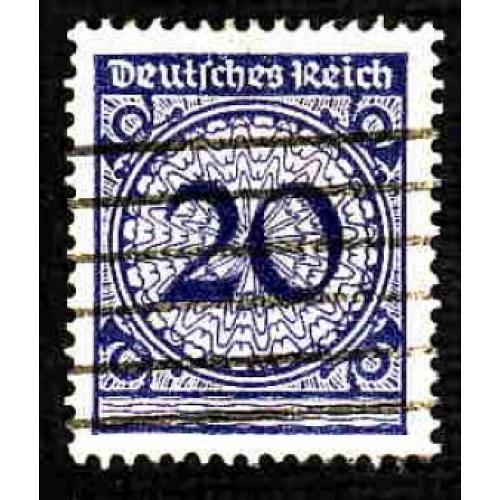 German Used Scott #326 Catalog Value $.40