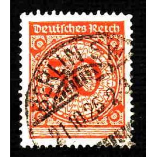 German Used Scott #327 Catalog Value $1.00