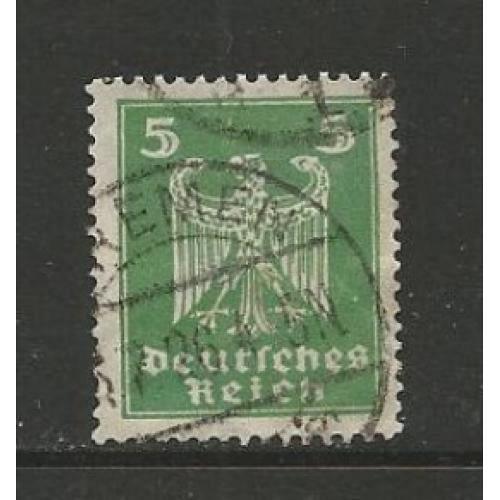 German Used Scott #331 Catalog Value $.40