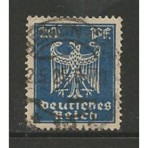 German Used Scott #333 Catalog Value $.40