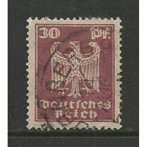 German Used Scott #334 Catalog Value $.45