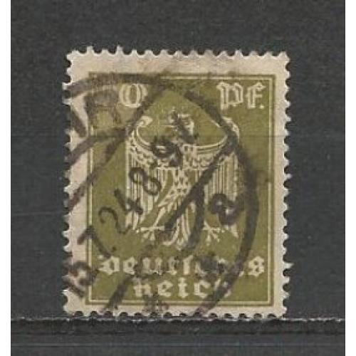 German Used Scott #335 Catalog Value $.70
