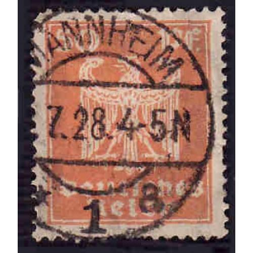 German Used Scott #336 Catalog Value $1.10