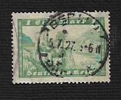 German Used Scott #337 Catalog Value $3.50