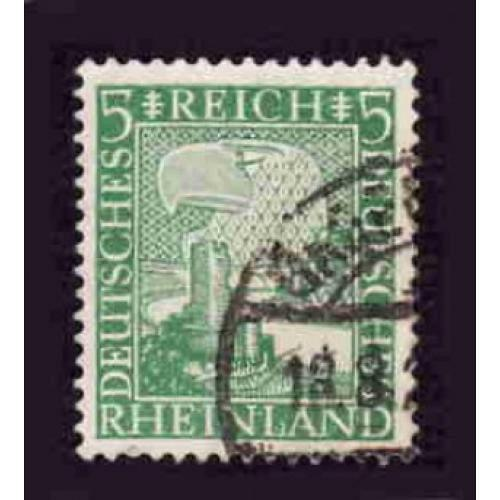 German Used Scott #347 Catalog Value $.40