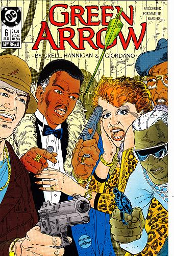 Green Arrow - JUL #6 - DC 1988 Comic Book - Very Good