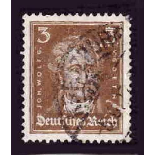 German Used Scott #352 Catalog Value $.40