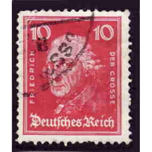 German Used Scott #355 Catalog Value $.40