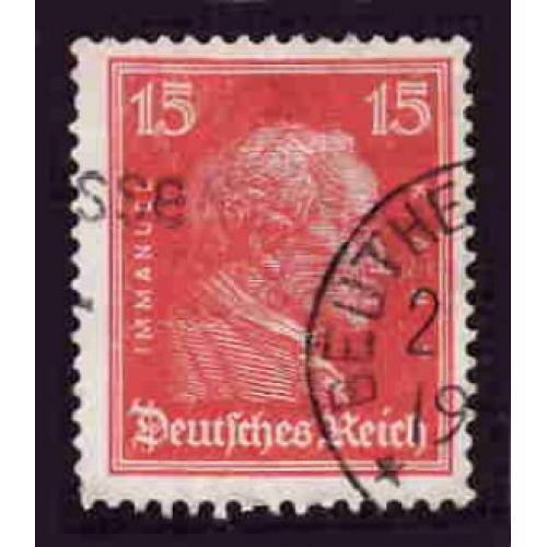 German Used Scott #356 Catalog Value $.40