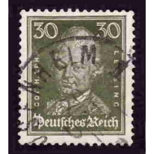 German Used Scott #359 Catalog Value $.65