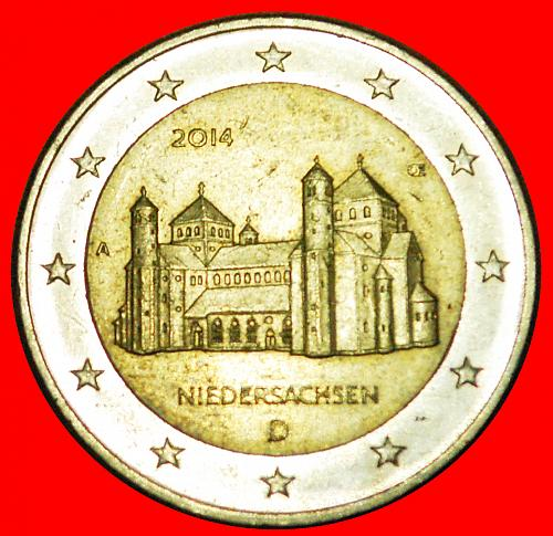 + LOWER SAXONY: GERMANY ★ 2 EURO 2014A! LOW START ★ NO RESERVE!