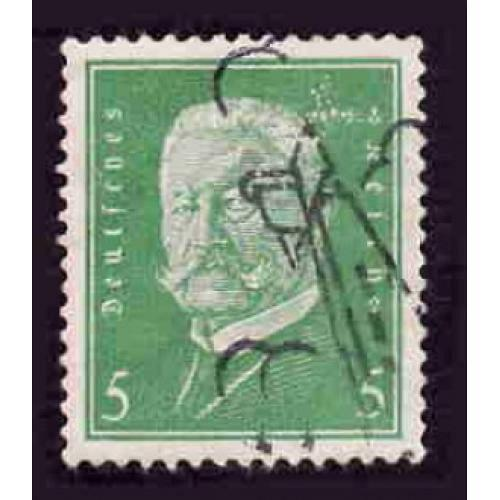 German Used Scott #368 Catalog Value $.65