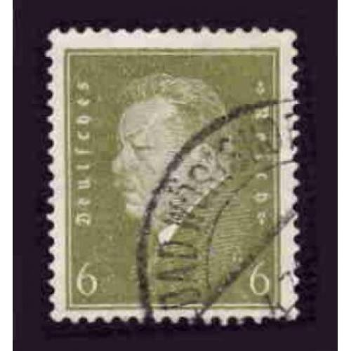 German Used Scott #369 Catalog Value $.70