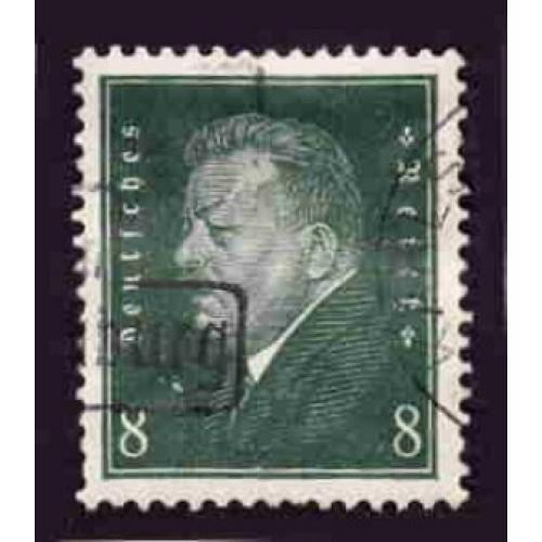 German Used Scott #370 Catalog Value $.65