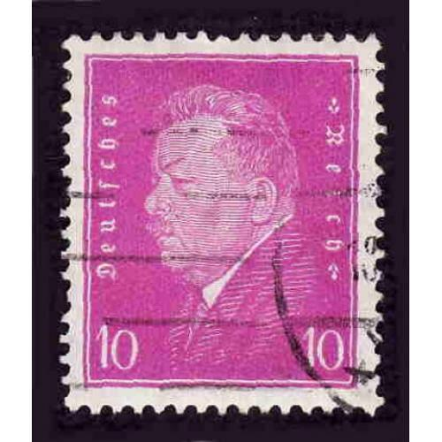 German Used Scott #372 Catalog Value $.80