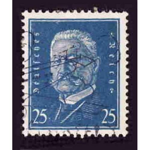 German Used Scott #377 Catalog Value $.95