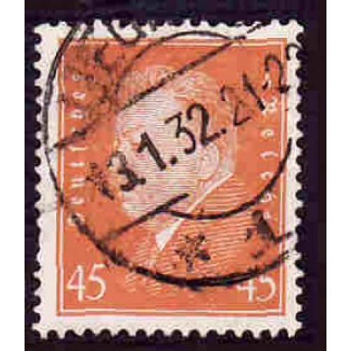 German Used Scott #380 Catalog Value $3.00