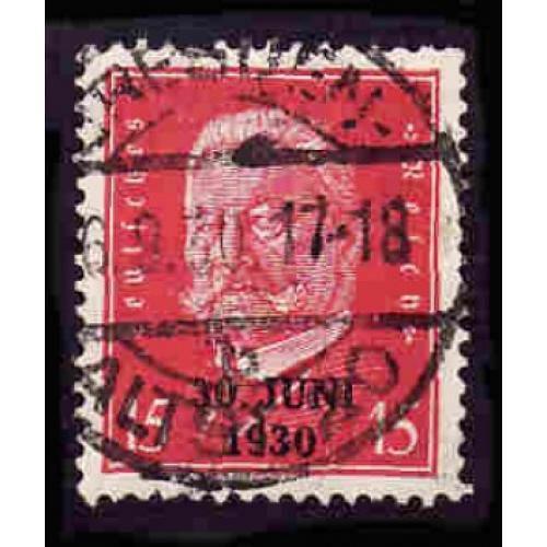 German Used Scott #386 Catalog Value $.95