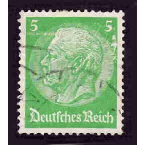 German Used Scott #392 Catalog Value $.60