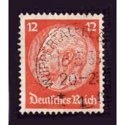German Used Scott #393 Catalog Value $.60