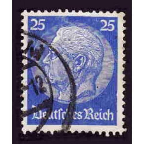 German Used Scott #395 Catalog Value $.75