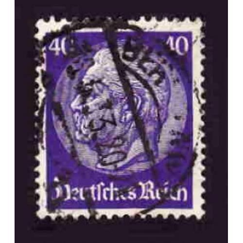 German Used Scott #396 Catalog Value $1.60