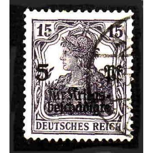 German Used Scott #B2 Catalog Value $4.75