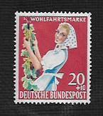 German MNH Scott #B364 Catalog Value $.45