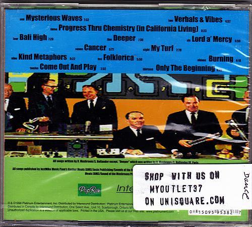 Warriors by Duke Mushroom CD 1998 - Brand New - Factory Sealed