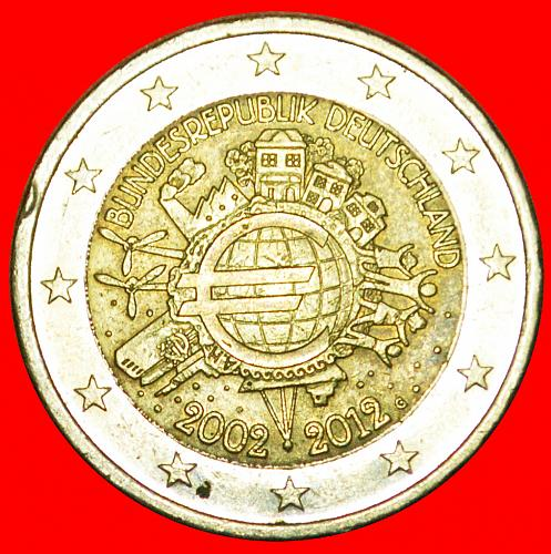 + SHIP: GERMANY ★ 2 EURO 2002-2012G! LOW START ★ NO RESERVE!
